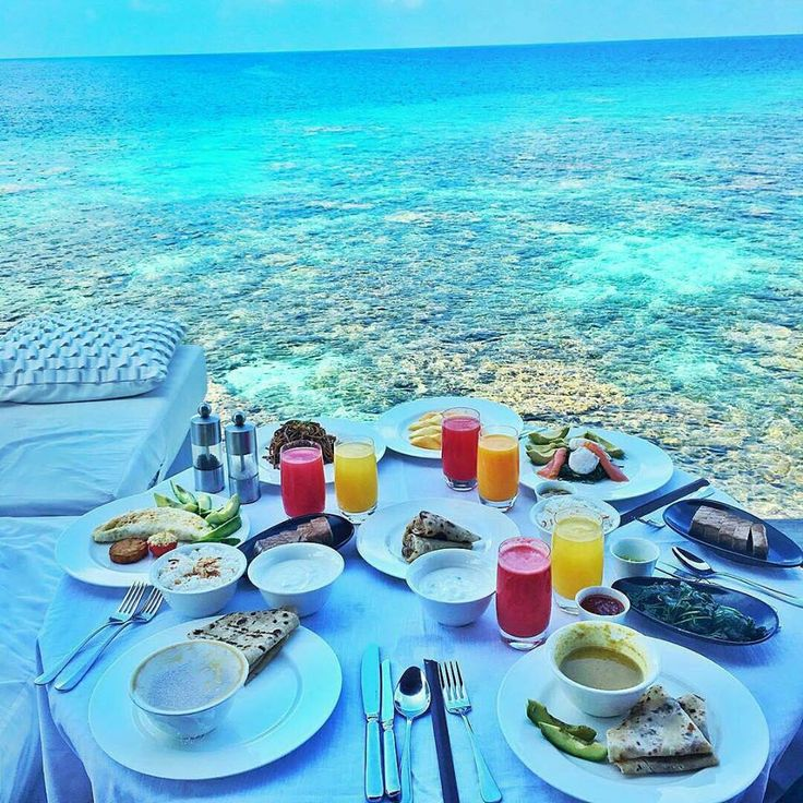 Maldives breakfast
