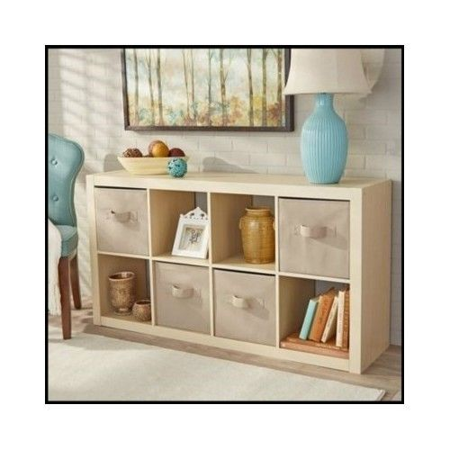 8-Cube-Organizer-Furniture-Shelves-Bookcase-Office-Tv-Storage-Display-Wood-Home