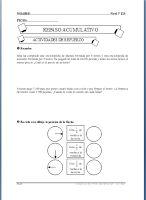 CARPETA DEL MAESTRO: ACTIVIDADES DE REFUERZO DE MATEMÁTICAS 5