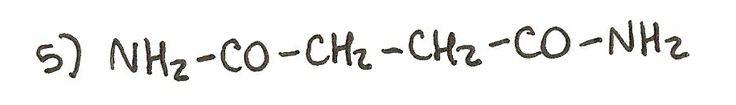 Ejercicio 5 de formulación orgánica. Nombra la siguiente amida.