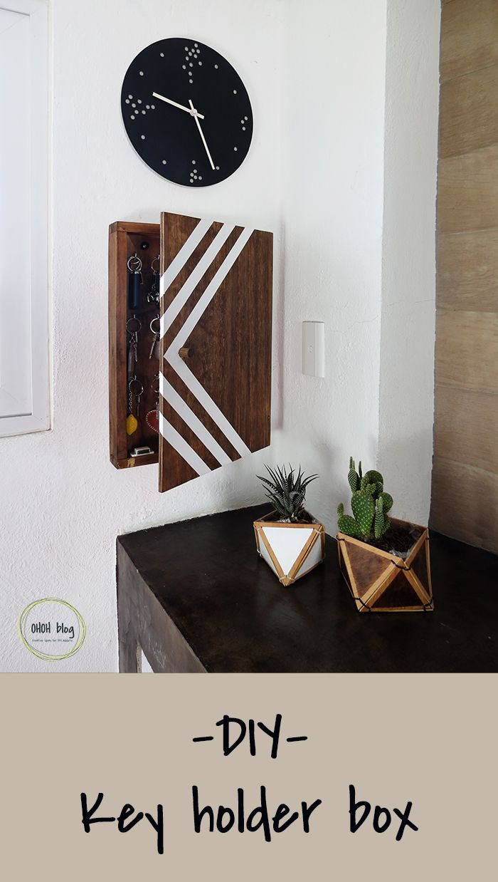 DIY key holder box Ohoh blog