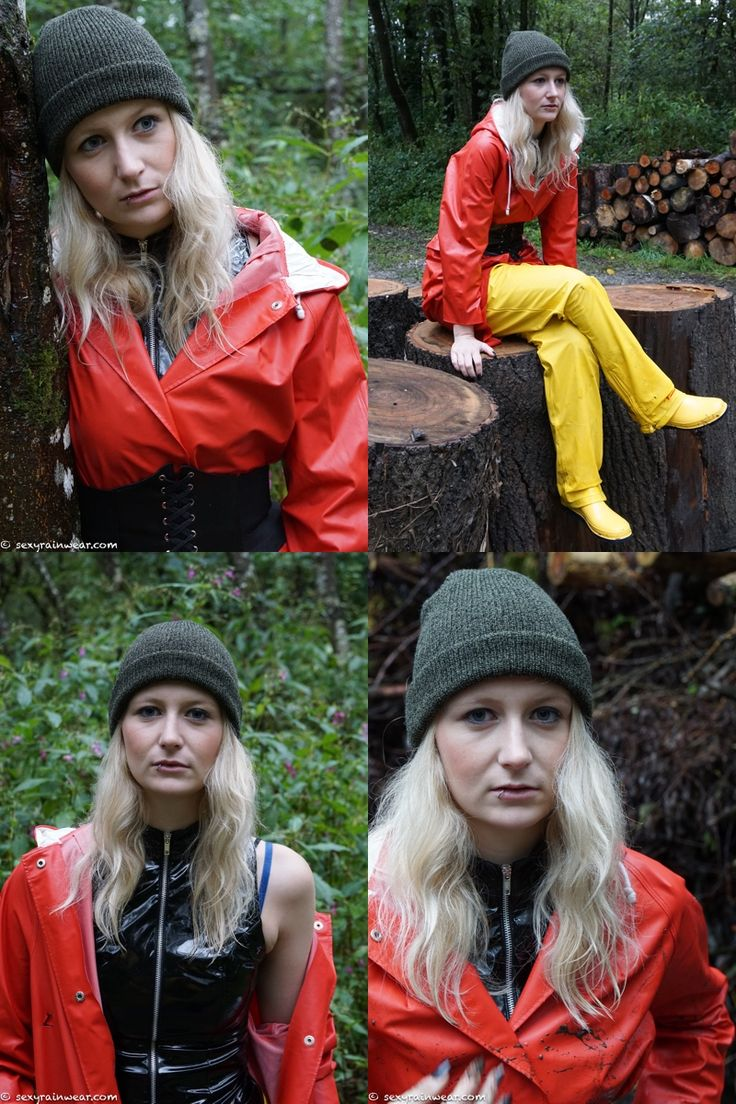 Red, yellow and a little bit of mud (60 pics) – www.sexyrainwear.online