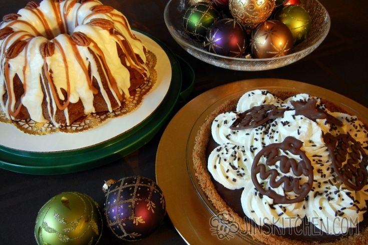 Chocolate Cream Pie Graham Crust (S'mores Pie) — hand-made Nabisco graham crust…
