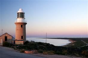 Vlaming Head Lighthouse in Exmouth - turning 100 years old in December 2012!