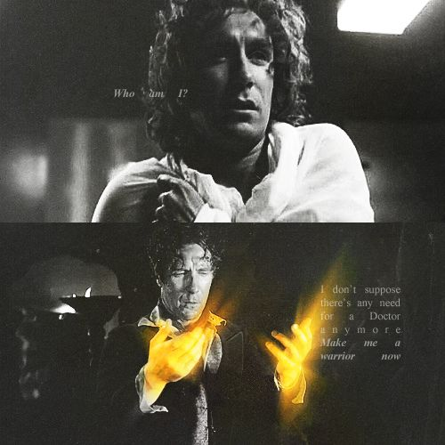 Paul McGann in Night of the Doctor || the man seriously needs his own prequel series to show his adventures between the god-awful movie and this fantastic short - I would so watch the hell out of that
