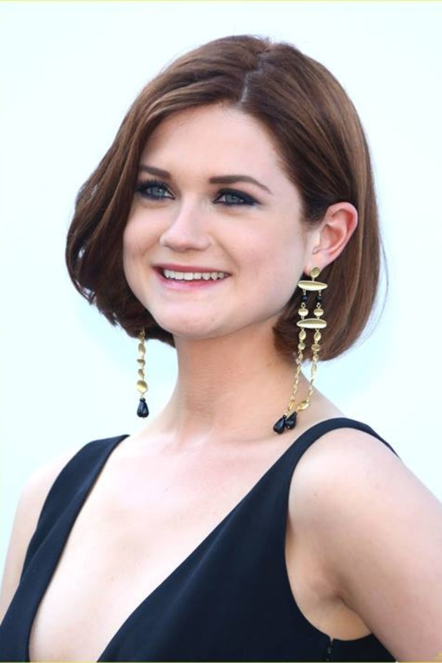 shaped hair styles bonnie wright s hair cut my style 3513