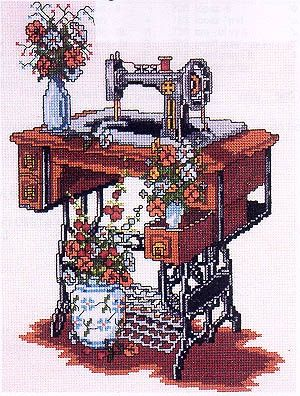 cross stitching machine