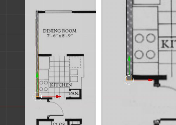 Create A 3d Floor Plan Model From An Architectural Schematic In Blender Floor Plans How To Plan Blender Tutorial