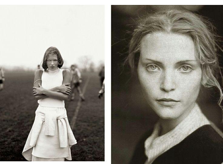 1993, Кейт Мосс, фото Коринн Дей, британский Vogue, март;  и Надя Ауэрманн, фото Паоло Роверси, британский Vogue, октябрь