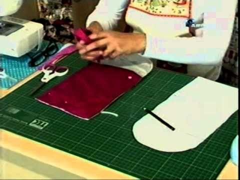 Como fazer uma Carteira Simples [De Pedacinhos Patchwork] - YouTube