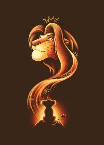 Awesome Lion King art