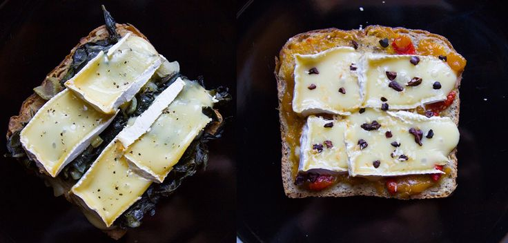 Brie D'Isigny On Toast, Two Ways