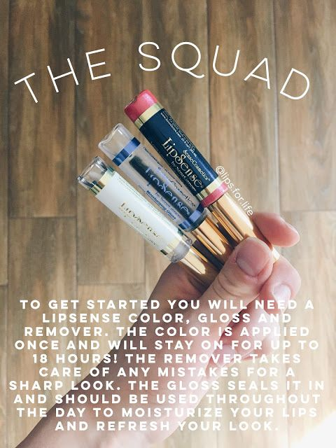 LipSense Facts about the LipSense Color, Gloss and Oops Remover