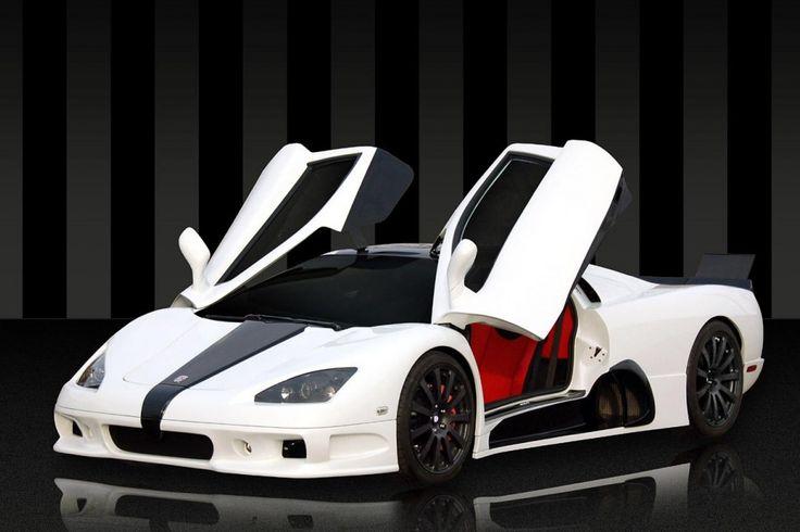 Shelby SuperCars Tuatara  Golden Ultimate Aero