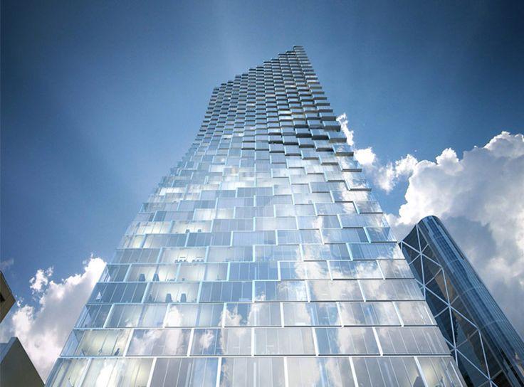 BIG reveals telus sky tower for calgary, canada