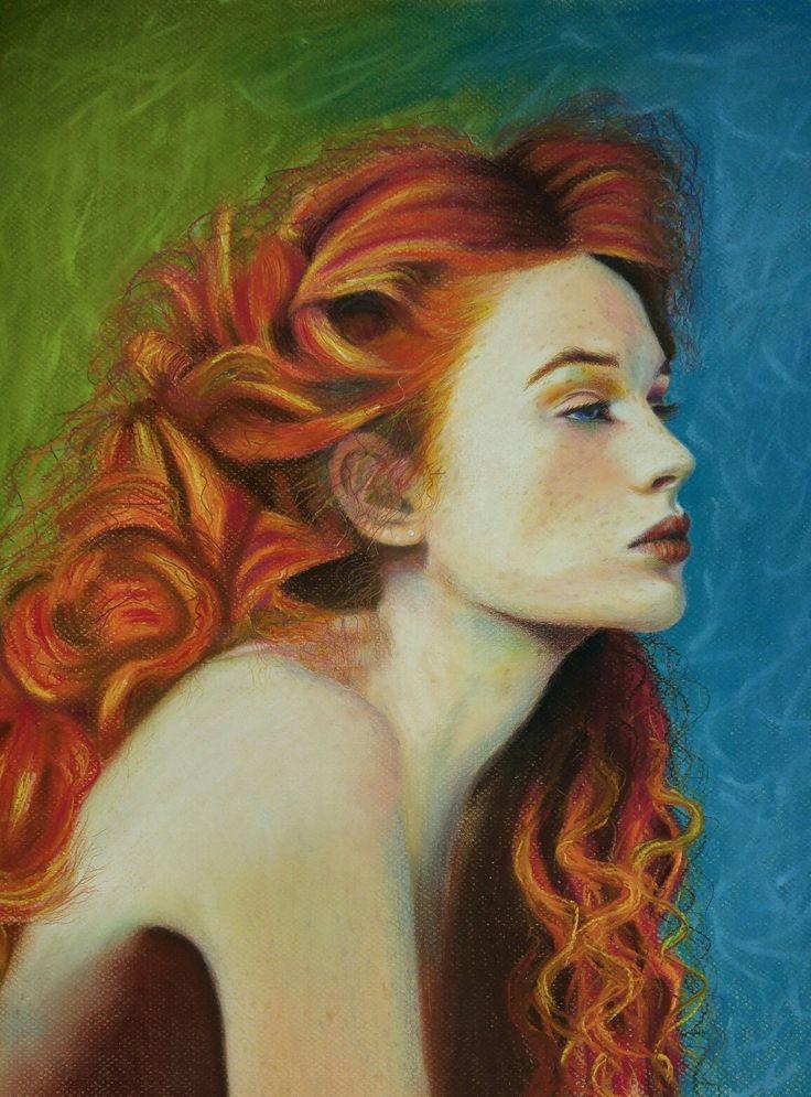 Redhead 2 pastel