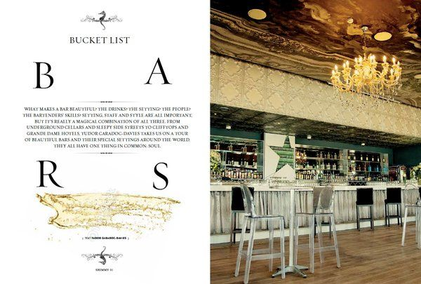 ARTICLE: View our ultimate bar #BucketList in the 3rd annual #ShimmyStyle mag. Visit us, get your copy & read more!