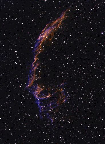 NGC 6995 Test Image | by astrochuck