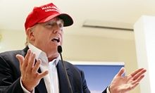 Donald Trump to take center stage at Republican primary debate | US news | The Guardian