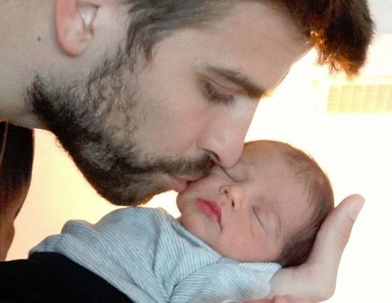 """We are happy to announce the birth of Milan Piqué Mebarak, son of Shakira Mebarak and Gerard Piqué, born January 22 at 9.36pm in Barcelona, Spain,"" the delighted new parents announced on Shakira's website."