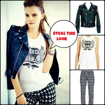 Get the look of Emma Watson!!! http://fashion001lover.blogspot.in/2013/08/vogue-august-issue13-get-look-of-emma.html