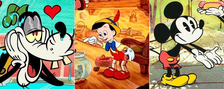 Esta es la razón por la que muchos personajes de Disney llevan guantes blancos  Mickey Mouse, Pinocho, Goofy... ¡Todos ellos llevaban guantes!   Hay algo que Mickey Mouse, Goofy y Pinocho tienen en común y no es su origen en Di... http://sientemendoza.com/2017/02/06/esta-es-la-razon-por-la-que-muchos-personajes-de-disney-llevan-guantes-blancos/