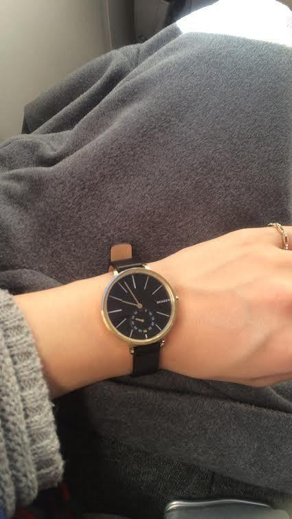 スカーゲンskagenレディース腕時計