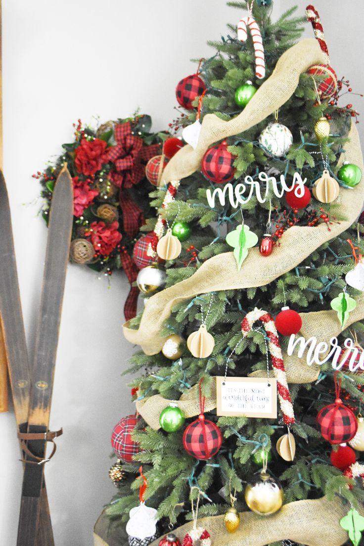 Diy Christmas Tree Ornaments Cricut Maker Pineapple Paper Co Diy Christmas Tree Ornaments Diy Christmas Tree Christmas Projects Diy