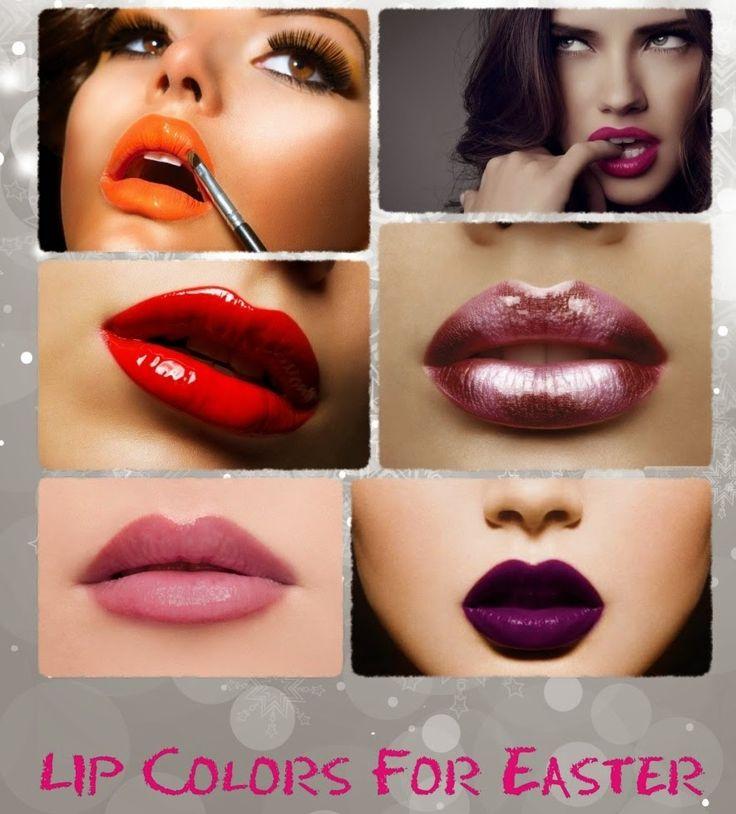 Lipstick idea for easter