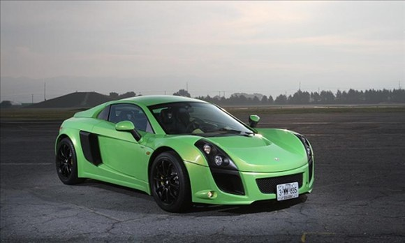 South-of-the-Border Cars You Can't Buy in the USA  Mastretta MXT 2.0  A midengined two-seater that looks similar to a Lotus Exige. The Mastretta MXT, uses a Ford 2.0-liter four-cylinder turbocharged to make 250 hp. It's priced at about $65,000 with a five-speed manual. The company claims a 4.9-second sprint to 60 mph, also on par with the  Lotus. The MXT's tube-frame and aluminum monocoque chassis features a lightweight carbon-fiber body. The car  reach 149 mph.
