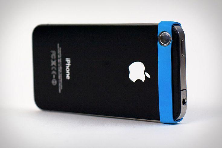 Universal Cameraphone Macro Lens (Rubberband). Cool!