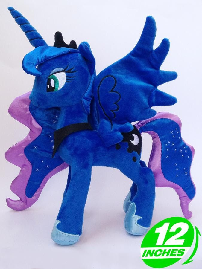 My Little Pony Princess Luna Plush Doll POPL6031 Size: 12 inches Set of: 1 Weight: 250 g