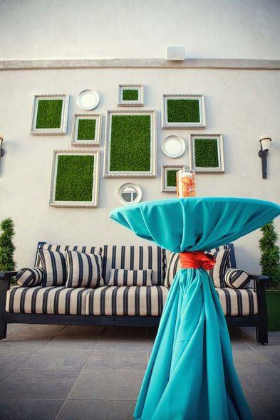 Cuadros de césped artificial patio turf picture frames #césped artificial #jardín #www.stepongreen.com