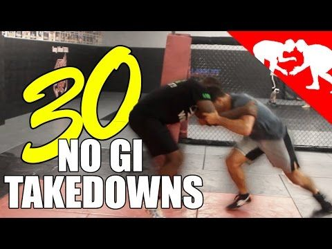 Get Your Takedown Game On Point! 30 No Gi Takedowns!