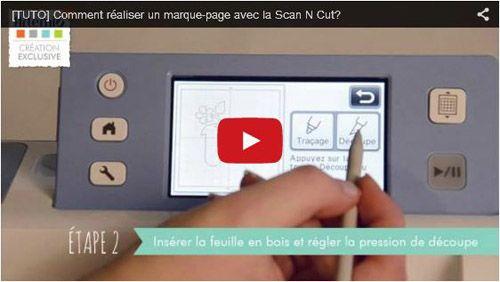 Blog   Artemio Créateur d'idées [TUTO] Comment réaliser un marque-page avec la machine Scan N Cut? Vidéo à découvrir sur notre chaine Youtube Artemio
