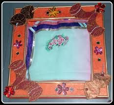 saree packing designs - Google Search