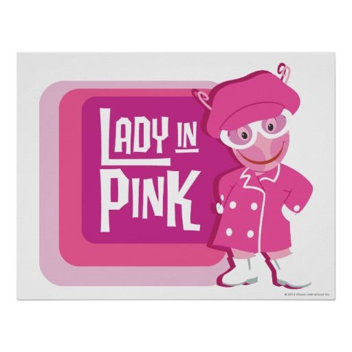 Uniqua - Lady in Pink. Regalos, Gifts. #poster