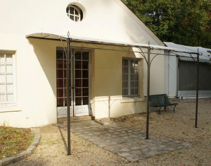 Tonnelle de Jardin Adossée Murale CAPRI 3x4 M - Avec toile