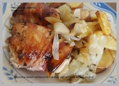 Habverő és fakanál: Baconbe tekert csirkecomb filé vele sült almával és…