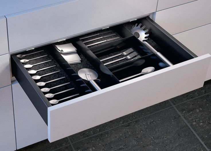Lighten Up The Contents Of Your Drawers As You Open Them With Builting Drawer Lighting