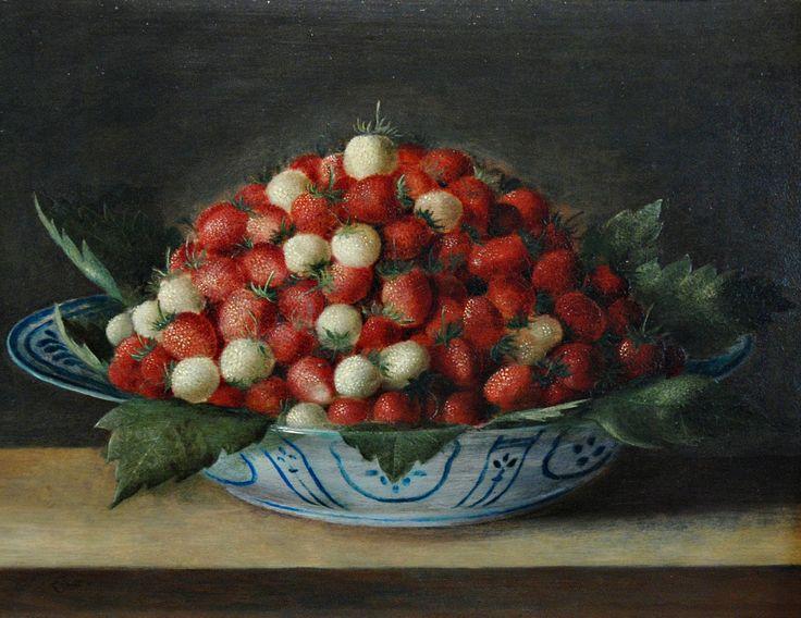 8Sébastien_Stoskopff,fruit still life Jatte_de_fraises.Mus l'Œuvre Notre-Dame de Strasbourg b.jpg