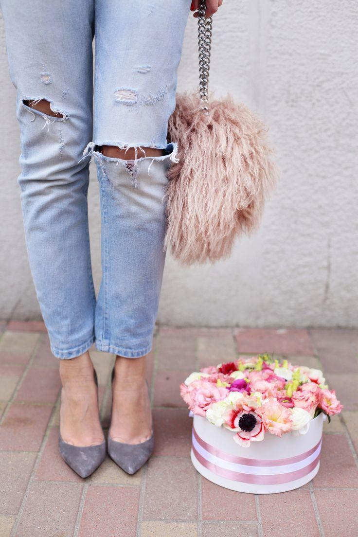 Fashion meet flowers / Flower box by DIFIORI