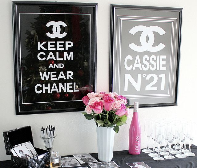Chanel Party- For my Cassaroo!