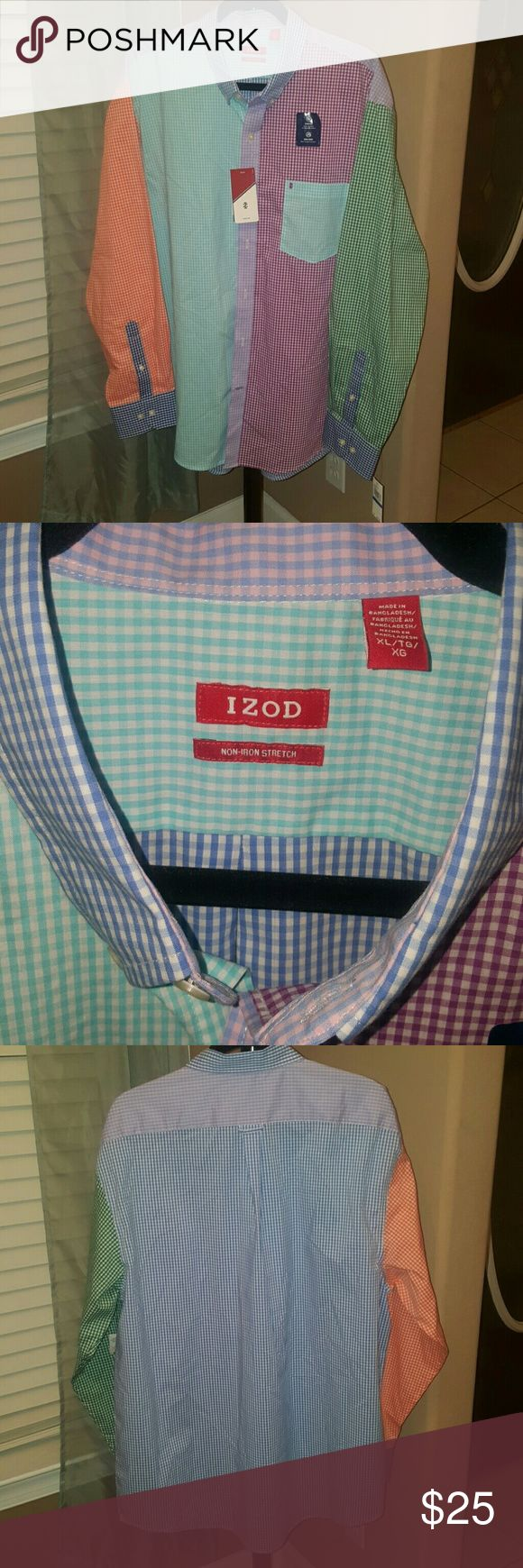 SALE-NWT - Men's IZOD shirt Just Marked Down!  NWT - Men's IZOD shirt Izod Shirts Casual Button Down Shirts