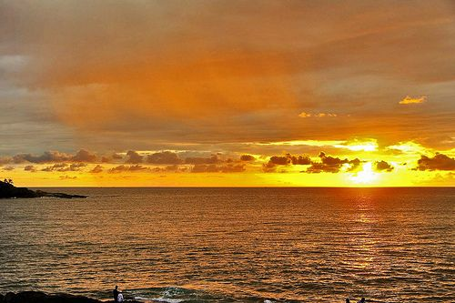 Sunset at Beruwala, Sri Lanka