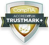 CompTIA ACCREDTUK Trustmark+ - ISO for IT companies.  We were awarded this in May 2013 and sat on the panel for the accreditation.