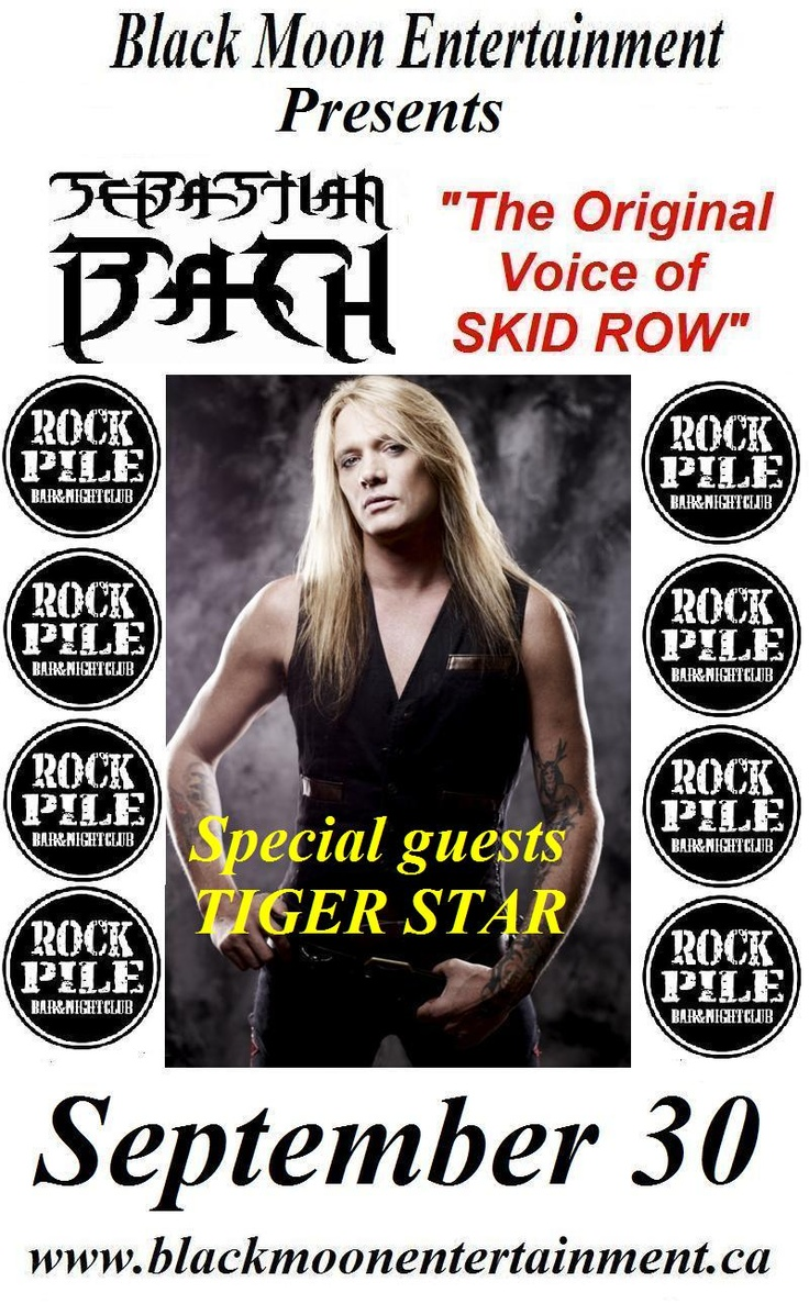 Sebastian Bach in Toronto, ON live at The Rockpile Nightclub - September 30, 2012