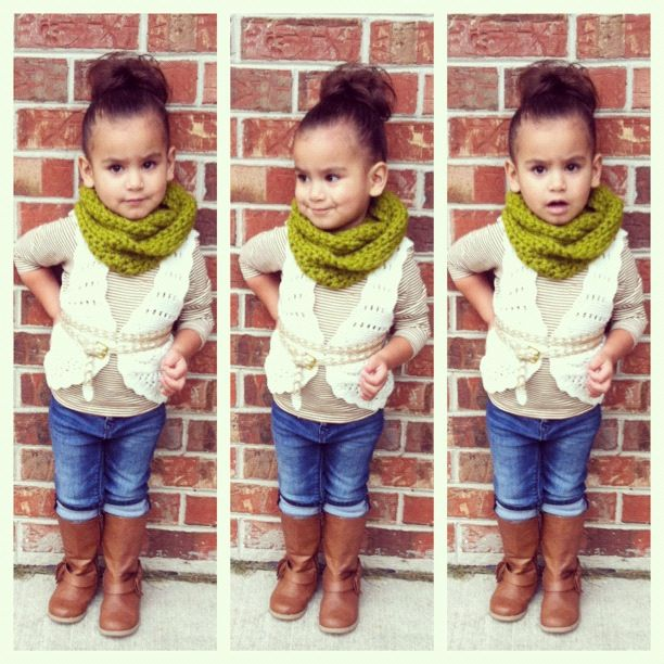 cute toddler fall outfit