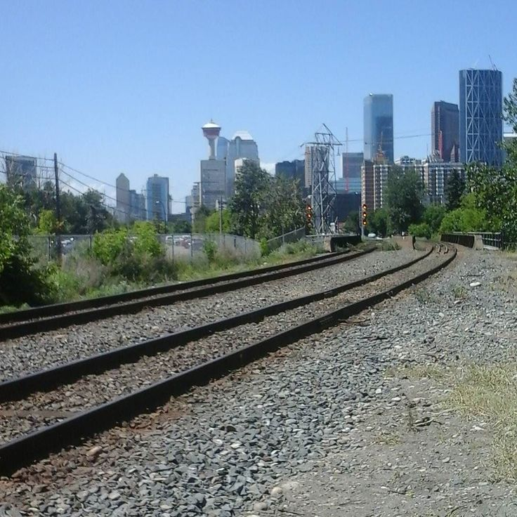 """Everybody's singin' a workin' man's song ...""  (Down in the Track by Doobie Brothers). Never seem to need an Instagram filter when taking pictures of #calgary even by braille. The sun always glares off my device and I can never see the image until I get home. #citylife #urbanphotography #streetphotography #cityscape #calgary #yyc #alberta #canada #ilovecalgary"