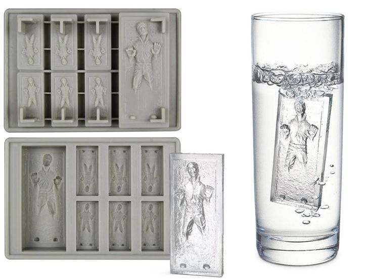 Do want.Star Wars, Ice Trays, Solo Ice, Carbonite Ice, Stars Wars, Ice Cube Trays, Hans Solo, Starwars, Ice Cubes Trays